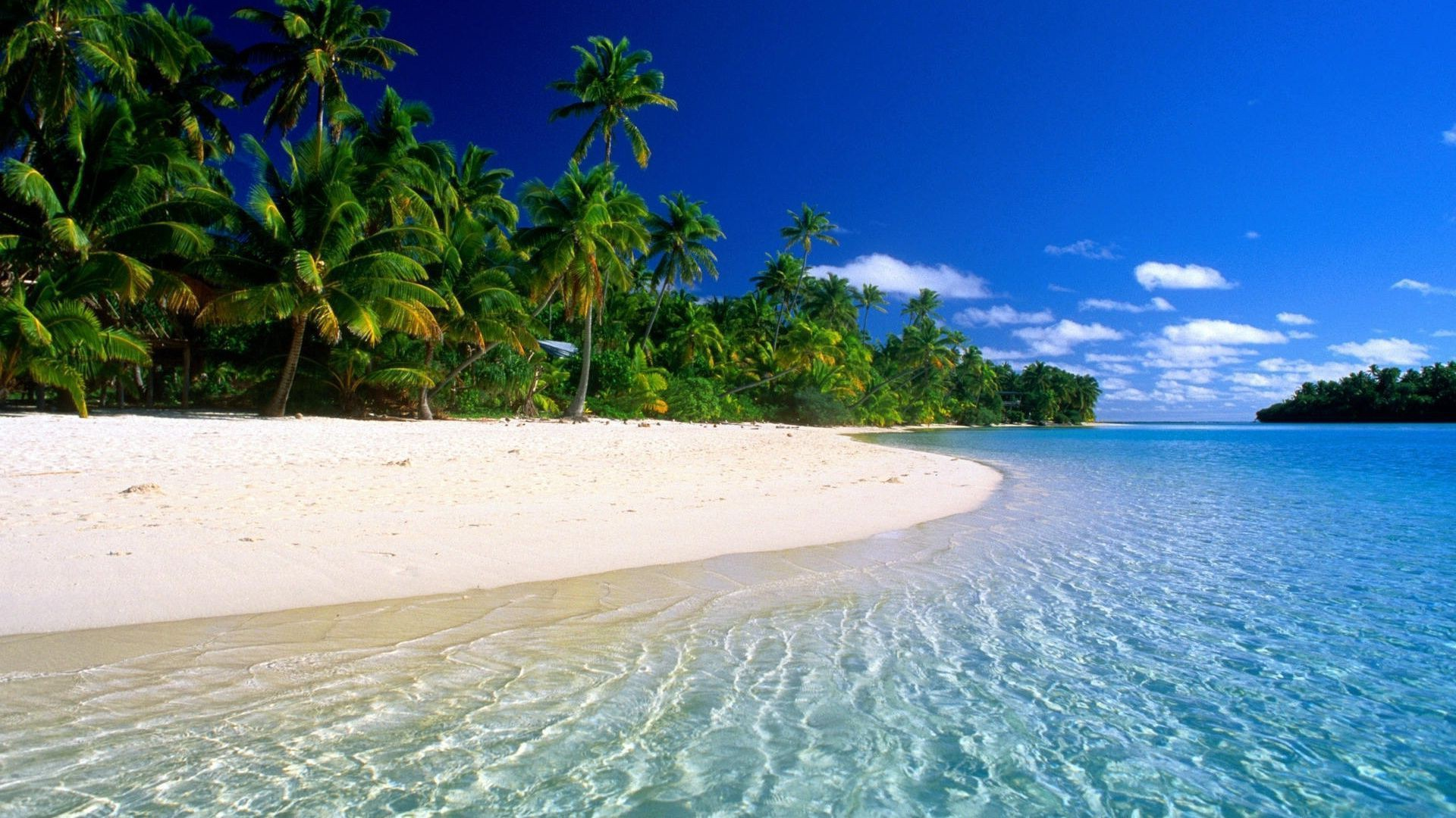 Hd Tropical Island Beach Paradise Wallpapers And Backgrounds: Tropical Beach Paradise 1920×1080