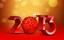 Happy New Year 2013 Desktop Background with resolutions 2560×1600 px