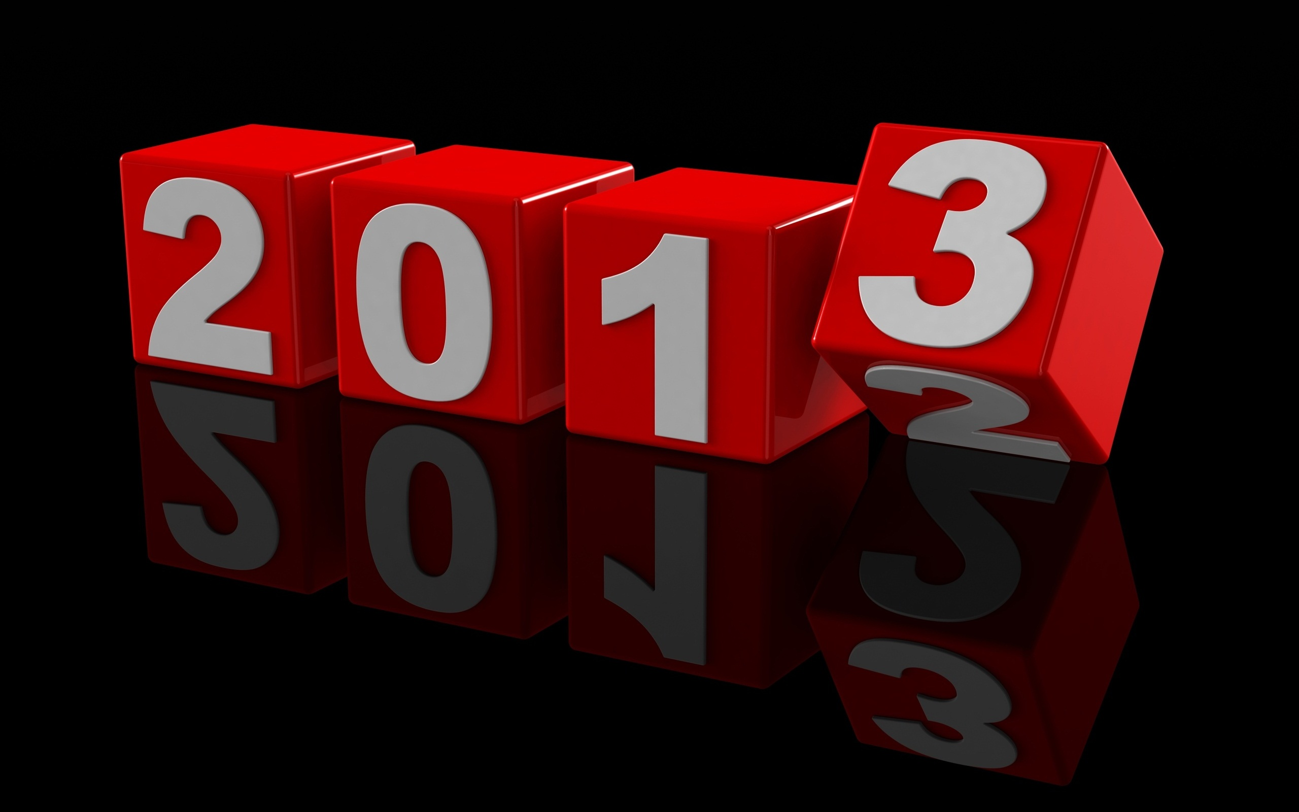 Happy new year 2013 Destop Wallpaper HD 2560×1600