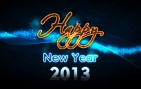 Happy New Year 2013 HD Wallpaper with resolutions 1920×1200 px