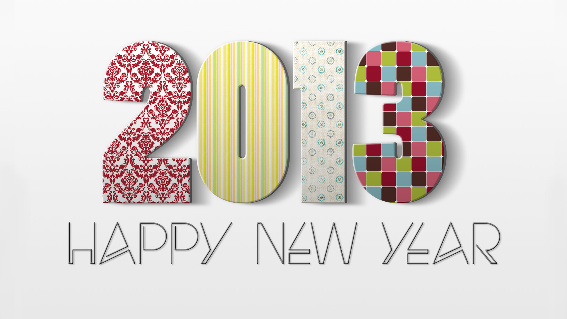 Happy New Year 2013 HD Wallpapers 1920×1080