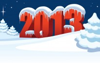 Happy New Year 2013 Wallpaper Desktop Background with resolutions 2560×1440 px