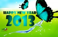 Happy New Year 2013 Wallpaper Wide with resolutions 1600×1200 px