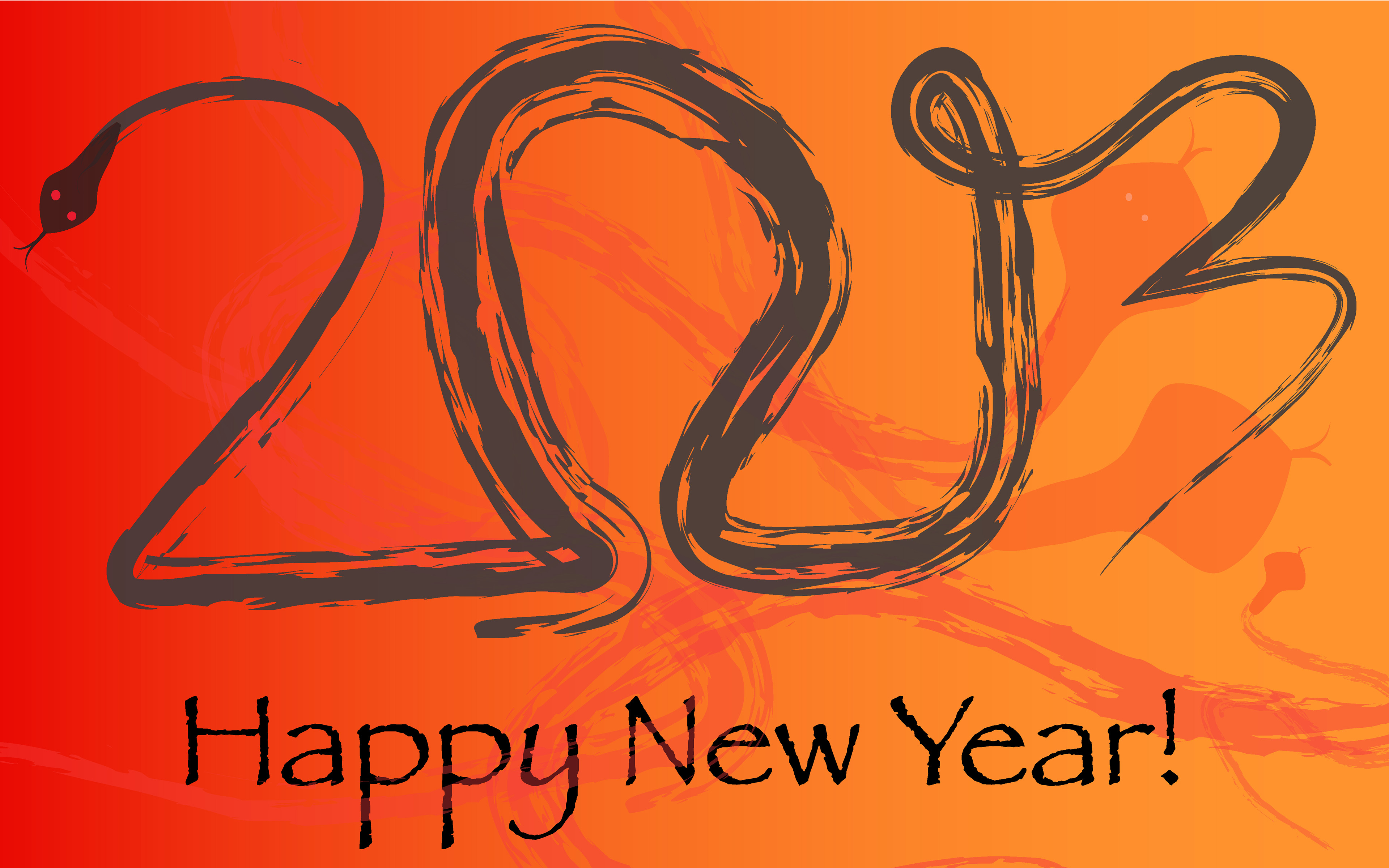 Happy New Year 2013 Wallpapers 3840×2400