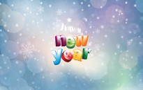 Happy New Year Widescreen Wallpaper with resolutions 2560×1600 px