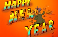 Happy New Year Widescreen Wallpaper with resolutions 1600×1200 px