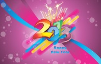 New Year 2013 Wallpaper with resolutions 3508×2482 px